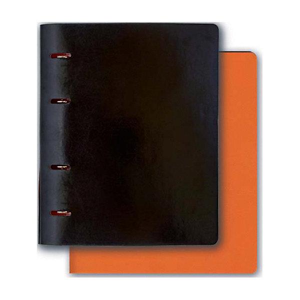 Феникс+ Тетрадь А5+ Феникс+, черный + оранжевый