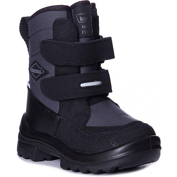 Kuoma Утепленные ботинки Kuoma Grosser ботинки для мальчика barkito krw18081