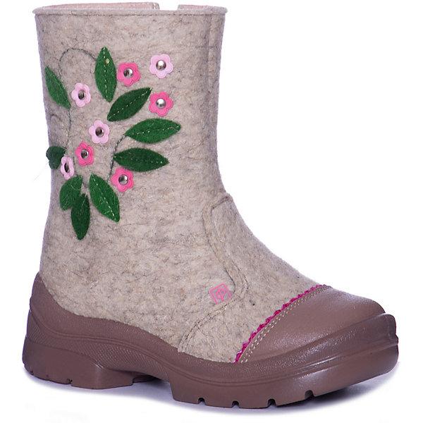 Филипок Валенки Лютики-цветочки для девочки