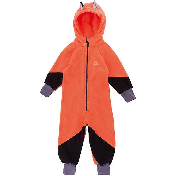 Комбинезон Ушки ЛисФлисФлис и термобелье<br>Характеристики товара:<br><br>• цвет: оранжевый;<br>• состав: 100% полиэстер, флис (280 гр);<br>• сезон: зима;<br>• особенности: флисовый, с капюшоном<br>• застежка: молния;<br>• защита подбородка от защемления;<br>• эластичные манжеты на рукавах и брючинах;<br>• резинка на спине для лучшей посадки;<br>• декорирован лисьими ушками на капюшоне;<br>• страна бренда: Россия;<br>• страна производства: Россия.<br><br>Флисовый комбинезон на молнии. Изделие можно одевать как поддеву (дополнительный утепляющий слой) под мембранную одежду при минусовой температуре. А как самостоятельный элемент одежды (верхний слой) от +10 градусов. Прочная молния комбинезона расстегивается и застегивается одним движением руки. Флисовый комбинезон с капюшоном оранжевого цвета.<br><br>Комбинезон Ушки ЛисФлис можно купить в нашем интернет-магазине.<br>Ширина мм: 356; Глубина мм: 10; Высота мм: 245; Вес г: 519; Цвет: оранжевый; Возраст от месяцев: 12; Возраст до месяцев: 15; Пол: Унисекс; Возраст: Детский; Размер: 80,98,92,86; SKU: 7050601;