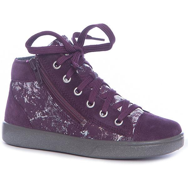 superfit Ботинки Superfit для девочки ботинки детские superfit ботинки на липучках для девочки фиолетовые