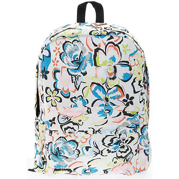 Рюкзак Цветы, цвет мультиРюкзаки<br>Характеристики товара:<br><br>• цвет: мульти;<br>• возраст: от 7 лет;<br>• особенности рюкзака: большой, легкий;<br>• вес: 0,3 кг;<br>• размер: 40х32х13 см;<br>• материал: полиэстер;<br>• уплотненная мягкая спинка;<br>• лямки регулируются по росту; <br>уплотненные;<br>• страна бренда: США;<br>• страна изготовитель: Китай.<br><br>Стильный, вместительный и практичный, рюкзак понравится и школьникам, и студентам. Просторный внутренний отсек, наружний карман на молнии будут очень удобны в использовании.<br><br>Рюкзак «Цветы» можно купить в нашем интернет-магазине.<br>Ширина мм: 400; Глубина мм: 320; Высота мм: 130; Вес г: 300; Возраст от месяцев: 84; Возраст до месяцев: 720; Пол: Унисекс; Возраст: Детский; SKU: 7054027;