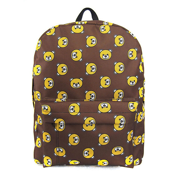 Рюкзак Мишки с 1 карманом, цвет коричневыйРюкзаки<br>Характеристики товара:<br><br>• цвет: коричневый;<br>• возраст: от 7 лет;<br>• особенности рюкзака: большой, легкий, с принтом;<br>• вес: 0,3 кг;<br>• размер: 40х32х13 см;<br>• материал: полиэстер;<br>• усиленная спинка и дно рюкзака;<br>• лямки регулируются по росту; <br>• основное отделение на молнии;<br>• карман на лицевой стороне рюкзака;<br>• страна бренда: США;<br>• страна изготовитель: Китай.<br><br>Рюкзак «Мишки» - очень удобная и вместительная модель. <br><br>Лямки регулируются по росту. Просторный внутренний отсек, наружний карман на молнии будут очень удобны в использовании. Благодаря текстильной ручке рюкзак можно повесить. Выполнен рюкзак из влагостойкой ткани. <br><br>Рюкзак «Мишки» с 1 карманом можно купить в нашем интернет-магазине.<br>Ширина мм: 400; Глубина мм: 320; Высота мм: 130; Вес г: 300; Возраст от месяцев: 84; Возраст до месяцев: 720; Пол: Унисекс; Возраст: Детский; SKU: 7054044;