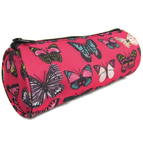Creative LLC Пенал Махаоны, цвет розовый пенал тубус action apc4221 apc4221