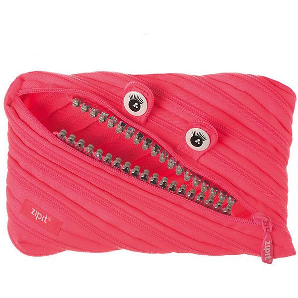 Пенал-сумочка GRILLZ JUMBO POUCH, цвет розовыйПеналы без наполнения<br>Характеристики товара:<br><br>• цвет: розовый;<br>• возраст: от 3 лет;<br>• вес: 0,1 кг;<br>• размер: 23х2х15 см;<br>• одно отделение на молнии;<br>• изготовлен из длинной молнии;<br>• молнию можно полностью расстегнуть;<br>• необычный дизайн; <br>• материал: полиэстер;<br>• страна бренда: США;<br>• страна изготовитель: Китай.<br><br>Zipit пенал-сумочка «GRILLZ Jumbo Pouch» - удобен для разных мелочей и для пишущих принадлежностей.<br><br>Изготовлен из 1 длинной молнии. Особенности пенала - зубки и глазки. Вы будете всегда в хорошем настроении! <br><br>Пенал-сумочка «Grillz Jumbo Pouch» можно купить в нашем интернет-магазине.<br>Ширина мм: 230; Глубина мм: 20; Высота мм: 150; Вес г: 100; Возраст от месяцев: 36; Возраст до месяцев: 720; Пол: Унисекс; Возраст: Детский; SKU: 7054162;
