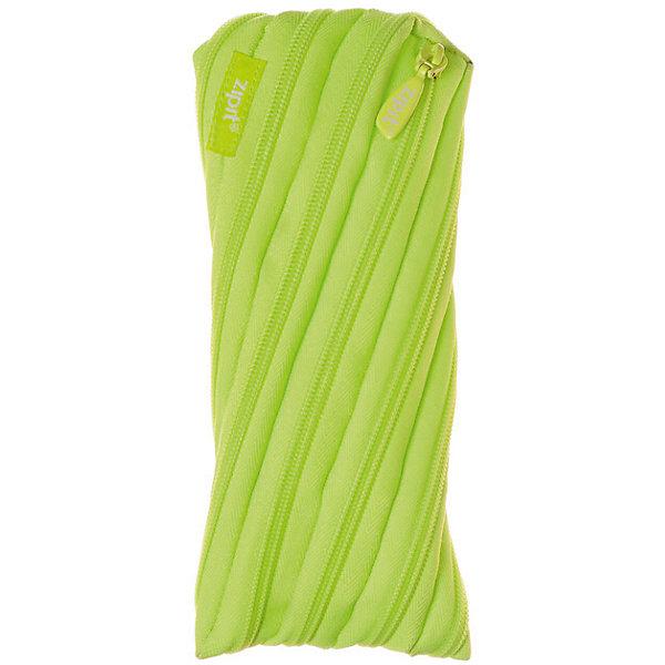 Zipit Пенал-сумочка NEON POUCH, цвет лайм пенал colorz box zipit пенал colorz box