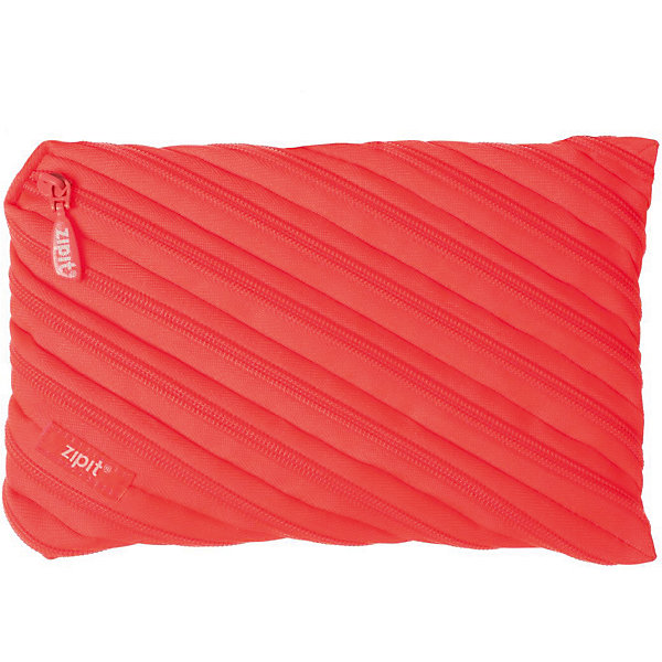 Пенал-сумочка NEON JUMBO POUCH, цвет персиковыйПеналы без наполнения<br>Характеристики товара:<br><br>• цвет: персиковый;<br>• возраст: от 3 лет;<br>• вес: 0,1 кг;<br>• размер: 23х2х15 см;<br>• одно вместительное отделение;<br>• изготовлен из длинной молнии;<br>• молнию можно полностью расстегнуть;<br>• материал: полиэстер;<br>• страна бренда: США;<br>• страна изготовитель: Китай.<br><br>Этот пенал из гибкой молнии выполнен в приятном персиковом оттенке. Стоит обратить внимание на его практичный размер и форму, надежную застежку и вместительность. <br><br>Аксессуар вполне может послужить не только школьникам! Его можно использовать как косметичку, сумку для мелочей, чехол для техники. Стильные детали и актуальная расцветка – это дополнительные плюсы модели. <br><br>Пенал-сумочка «Neon Jumbo Pouch» можно купить в нашем интернет-магазине.<br>Ширина мм: 230; Глубина мм: 20; Высота мм: 150; Вес г: 100; Возраст от месяцев: 36; Возраст до месяцев: 720; Пол: Унисекс; Возраст: Детский; SKU: 7054176;