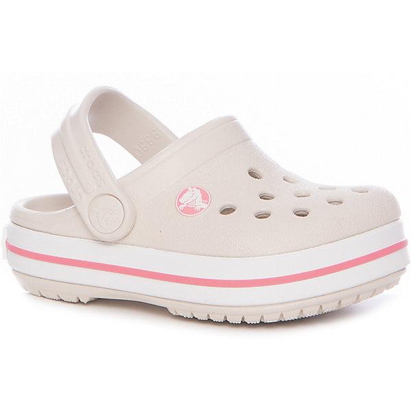 crocs Сабо Crocband Clog K сабо для девочки crocs classic clog k цвет светло розовый 204536 737 размер c7 24