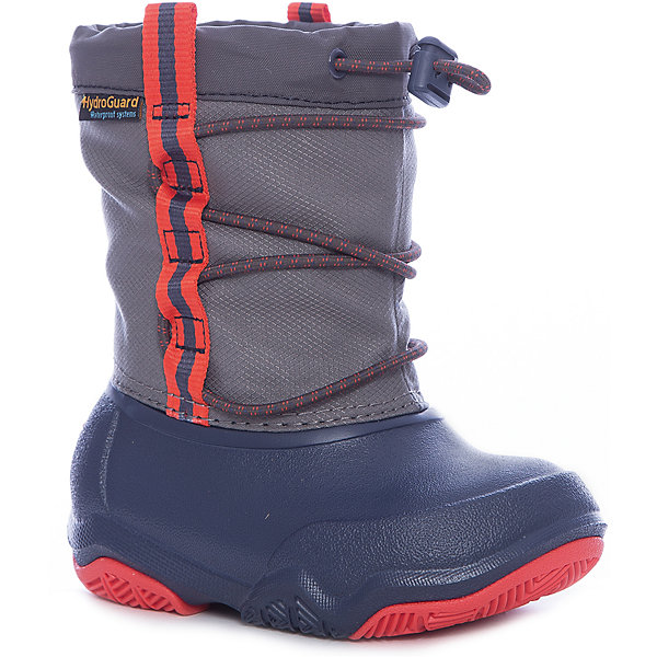 crocs Сапоги Swiftwater Waterproof Boot K сапоги зимние детские sorel yoot pac nylon grape juice an afterglow