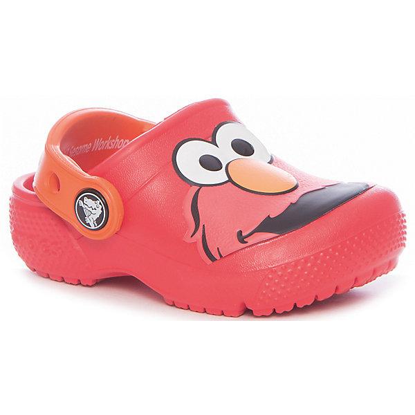 crocs Сабо CrocsFunLab Elmo Clog сабо для девочки crocs classic clog k цвет светло розовый 204536 737 размер c7 24