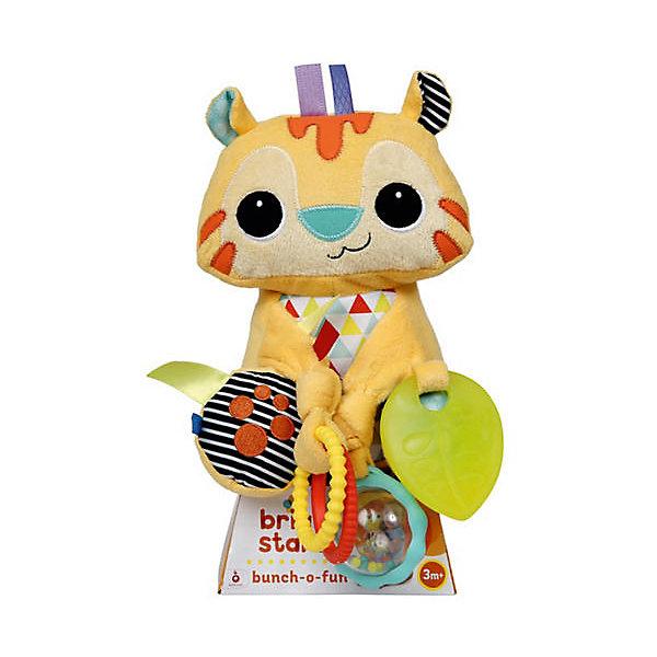 Bright Starts Развивающая игрушка Bright Starts Море удовольствия - Тигренок, 25 см прорезыватели bright starts игрушка самый мягкий друг с прорезывателями