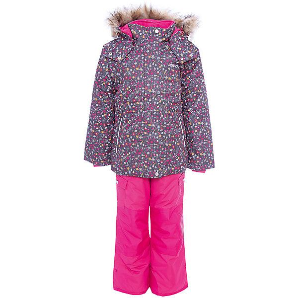 Фото - Gusti Комплект: куртка и полукомбинезон Gusti для девочки куртки пальто пуховики coccodrillo куртка для девочки wild at heart