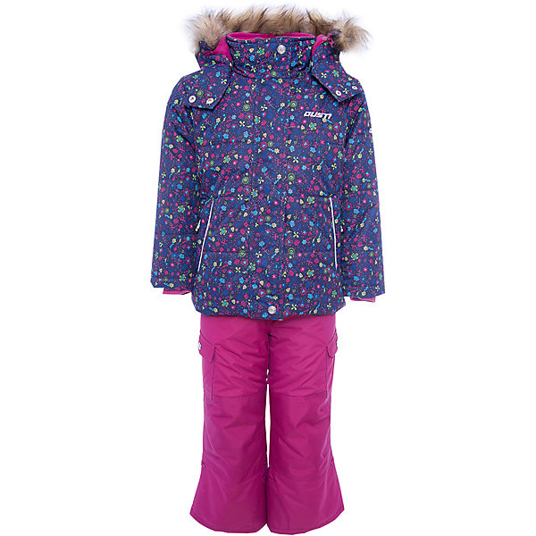 Комплект: куртка и полукомбинезон Gusti для девочкиКомплекты<br>Характеристики товара:<br><br>• цвет: синий<br>• комплектация: куртка и полукомбинезон <br>• состав ткани: таслан<br>• подкладка: куртка - флис coolquick, брюки - 100% полиэстер<br>• утеплитель: тек-полифилл<br>• сезон: зима<br>• мембранное покрытие<br>• температурный режим: от -30 до +5<br>• водонепроницаемость: 5000 мм <br>• паропроницаемость: 5000 г/м2<br>• плотность утеплителя: грудь и спина 230г/м2, рукава и брюки 170г/м2<br>• застежка: молния<br>• страна бренда: Канада<br>• страна изготовитель: Китай<br><br>Мембранный зимний комплект для ребенка отличается продуманным дизайном. Непромокаемый и непродуваемый верх детского комплекта не задерживает воздух. Зимний комплект легкий и износостойкий. Теплый комплект Gusti для девочки рассчитан даже на сильные морозы. <br><br>Комплект: куртка и полукомбинезон Gusti (Густи) для девочки можно купить в нашем интернет-магазине.<br>Ширина мм: 356; Глубина мм: 10; Высота мм: 245; Вес г: 519; Цвет: синий; Возраст от месяцев: 6; Возраст до месяцев: 9; Пол: Женский; Возраст: Детский; Размер: 75,158,150,142,134,127,123,119,112,104,100,96,89,85,82; SKU: 7068793;