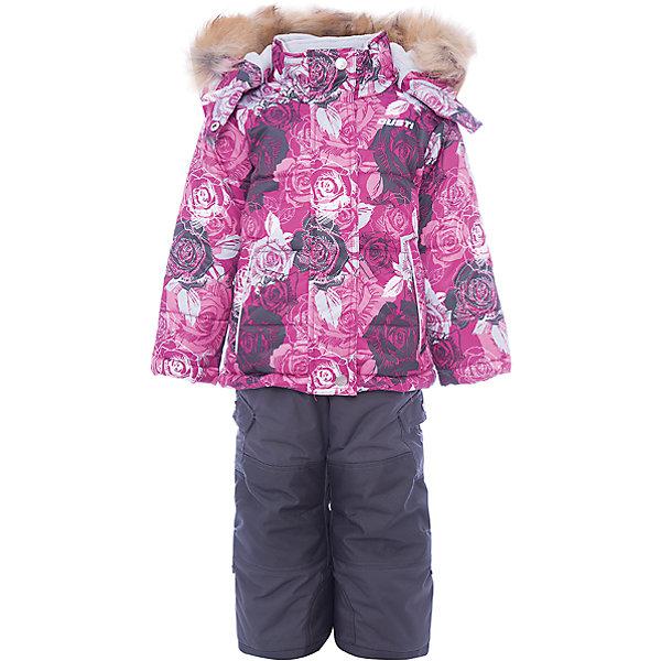 Купить Комплект: куртка и полукомбинезон Gusti для девочки, Китай, белый, Женский