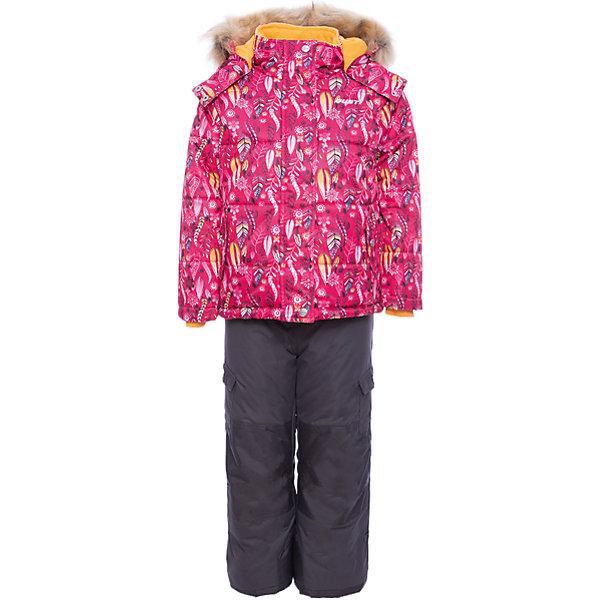 Купить Комплект Gusti: куртка и полукомбинезон, Китай, розовый, 75, 158, 150, 142, 134, 127, 123, 119, 112, 104, 100, 96, 89, 85, 82, Женский