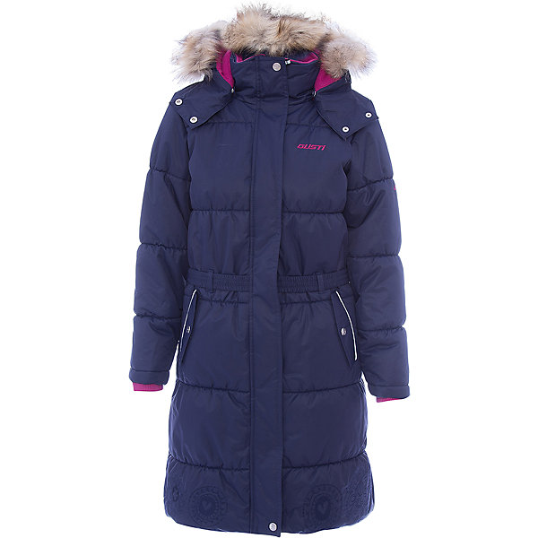 Купить Пальто Gusti для девочки, Китай, синий, Женский