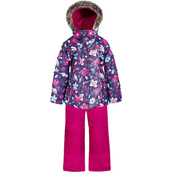 Комплект: куртка и полукомбинезон Zingaro by Gusti для девочкиВерхняя одежда<br>Характеристики товара:<br><br>• цвет: фиолетовый/фуксия<br>• комплектация: куртка и полукомбинезон <br>• состав ткани: таслан<br>• подкладка: куртка - флис coolquick, брюки - 100% полиэстер<br>• утеплитель: тек-полифилл<br>• сезон: зима<br>• мембранное покрытие<br>• температурный режим: от -30 до +5<br>• водонепроницаемость: 5000 мм <br>• паропроницаемость: 5000 г/м2<br>• плотность утеплителя: грудь и спина 230г/м2, рукава и брюки 170г/м2<br>• застежка: молния<br>• страна бренда: Канада<br>• страна изготовитель: Китай<br><br>Практичный комплект для зимы Zingaro by Gusti усилен износостойкими накладками. Такой теплый комплект для девочки позволяет коже дышать. Верх детской зимней куртки и полукомбинезона не промокает и не продувается. Мягкая подкладка детского комплекта для зимы приятна на ощупь.<br><br>Комплект: куртка и полукомбинезон Zingaro by Gusti (Зингаро) для девочки можно купить в нашем интернет-магазине.<br>Ширина мм: 356; Глубина мм: 10; Высота мм: 245; Вес г: 519; Цвет: фиолетово-розовый; Возраст от месяцев: 12; Возраст до месяцев: 18; Пол: Женский; Возраст: Детский; Размер: 127,123,119,112,104,85,158,100,96,150,89,142,82,75,134; SKU: 7069219;