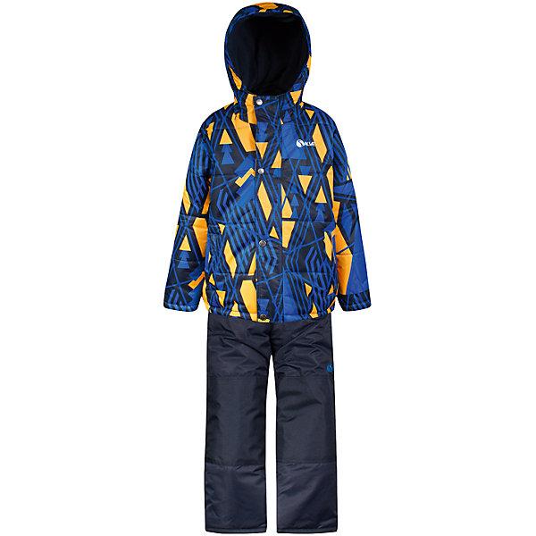 Комплект Salve: куртка и полукомбинезонКомплекты<br>Характеристики товара:<br><br><br>• комплектация: куртка и полукомбинезон <br>• состав ткани: таслан<br>• подкладка: куртка - флис coolquick, брюки - 100% полиэстер<br>• утеплитель: тек-полифилл<br>• сезон: зима<br>• мембранное покрытие<br>• температурный режим: от -30 до +5<br>• водонепроницаемость: 5000 мм <br>• паропроницаемость: 5000 г/м2<br>• плотность утеплителя: грудь и спина 230г/м2, рукава и брюки 170г/м2<br>• застежка: молния<br>• страна бренда: Канада<br>• страна изготовитель: Китай<br><br>Практичный зимний комплект для мальчика рассчитан даже на сильные морозы. Модный износостойкий детский комплект от канадского бренда Salve теплый и легкий. Мембранный зимний комплект для ребенка отличается продуманным дизайном. Непромокаемый и непродуваемый верх детского комплекта не задерживает воздух.
