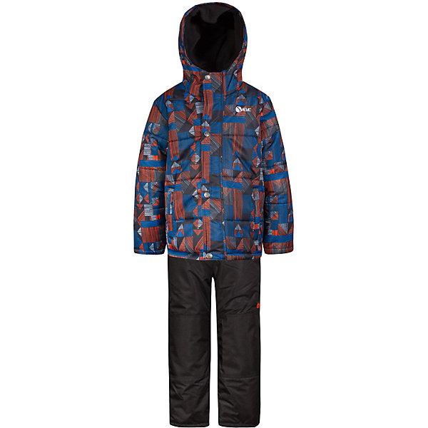 Купить Комплект Salve: куртка и полукомбинезон, Китай, синий, 89, 134, 127, 119, 112, 104, 96, Мужской