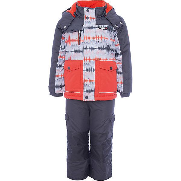 Купить Комплект: куртка и полукомбинезон Gusti для мальчика, Китай, белый, Мужской
