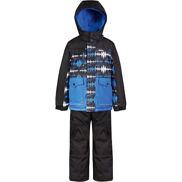 Комплект: куртка и полукомбинезон Gusti для мальчикаВерхняя одежда<br>Характеристики товара:<br><br>• цвет: голубой<br>• комплектация: куртка и полукомбинезон <br>• состав ткани: таслан<br>• подкладка: куртка - флис coolquick, брюки - 100% полиэстер<br>• утеплитель: тек-полифилл<br>• сезон: зима<br>• мембранное покрытие<br>• температурный режим: от -30 до +5<br>• водонепроницаемость: 5000 мм <br>• паропроницаемость: 5000 г/м2<br>• плотность утеплителя: грудь и спина 230г/м2, рукава и брюки 170г/м2<br>• застежка: молния<br>• страна бренда: Канада<br>• страна изготовитель: Китай<br><br>Непромокаемый и непродуваемый верх детского комплекта не задерживает воздух. Модный комплект Gusti для мальчика рассчитан даже на сильные морозы. Детский комплект от канадского бренда Gusti теплый и легкий, он легко чистится. Мембранный зимний комплект для ребенка отличается продуманным дизайном. <br><br>Комплект: куртка и полукомбинезон Gusti (Густи) для мальчика можно купить в нашем интернет-магазине.