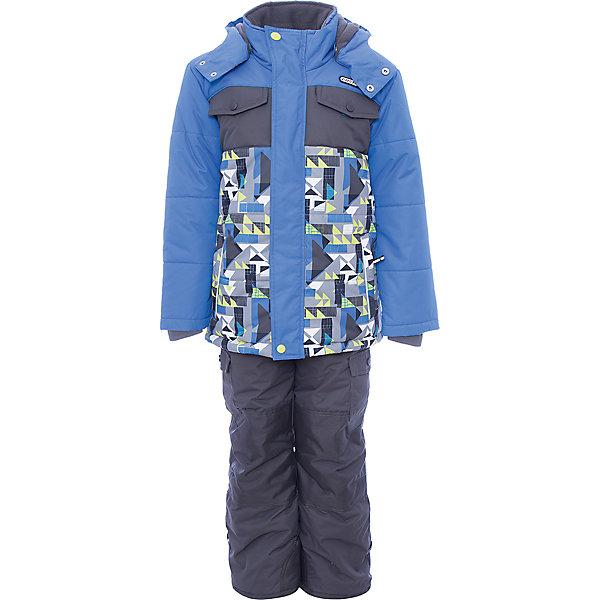Комплект: куртка и полукомбинезон Gusti для мальчикаВерхняя одежда<br>Характеристики товара:<br><br>• цвет: голубой<br>• комплектация: куртка и полукомбинезон <br>• состав ткани: таслан<br>• подкладка: куртка - флис coolquick, брюки - 100% полиэстер<br>• утеплитель: тек-полифилл<br>• сезон: зима<br>• мембранное покрытие<br>• температурный режим: от -30 до +5<br>• водонепроницаемость: 5000 мм <br>• паропроницаемость: 5000 г/м2<br>• плотность утеплителя: грудь и спина 230г/м2, рукава и брюки 170г/м2<br>• застежка: молния<br>• страна бренда: Канада<br>• страна изготовитель: Китай<br><br>Этот простой в уходе мембранный комплект Gusti для мальчика сделан легкого, но теплого материала. Верх детской зимней куртки и полукомбинезона также обеспечит защиту от грязи, влаги и ветра. Подкладка детского комплекта для зимы приятная на ощупь. Удобный комплект для ребенка отличается стильным дизайном. <br><br>Комплект: куртка и полукомбинезон Gusti (Густи) для мальчика можно купить в нашем интернет-магазине.<br>Ширина мм: 356; Глубина мм: 10; Высота мм: 245; Вес г: 519; Цвет: белый; Возраст от месяцев: 12; Возраст до месяцев: 18; Пол: Мужской; Возраст: Детский; Размер: 85,134,104,100,127,96,89,82,75,123,119,112,158,150,142; SKU: 7071080;
