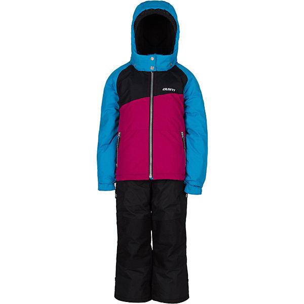 Комплект: куртка и полукомбинезон Gusti для девочкиВерхняя одежда<br>Характеристики товара:<br><br>• цвет: голубой<br>• комплектация: куртка и полукомбинезон <br>• состав ткани: таслан<br>• подкладка: куртка - флис coolquick, брюки - 100% полиэстер<br>• утеплитель: тек-полифилл<br>• сезон: зима<br>• мембранное покрытие<br>• температурный режим: от -30 до +5<br>• водонепроницаемость: 5000 мм <br>• паропроницаемость: 5000 г/м2<br>• плотность утеплителя: грудь и спина 230г/м2, рукава и брюки 170г/м2<br>• застежка: молния<br>• страна бренда: Канада<br>• страна изготовитель: Китай<br><br>Стильный комплект для зимы усилен износостойкими накладками. Мягкая подкладка детского комплекта для зимы делает его очень комфортным. Этот теплый комплект для девочки позволяет коже дышать. Плотный верх детской зимней куртки и полукомбинезона не промокает и не продувается, его легко чистить. <br><br>Комплект: куртка и полукомбинезон Gusti (Густи) для девочки можно купить в нашем интернет-магазине.<br>Ширина мм: 356; Глубина мм: 10; Высота мм: 245; Вес г: 519; Цвет: синий; Возраст от месяцев: 36; Возраст до месяцев: 48; Пол: Женский; Возраст: Детский; Размер: 100,104,96,89,158,150,142,134,127,123,119,112; SKU: 7071194;