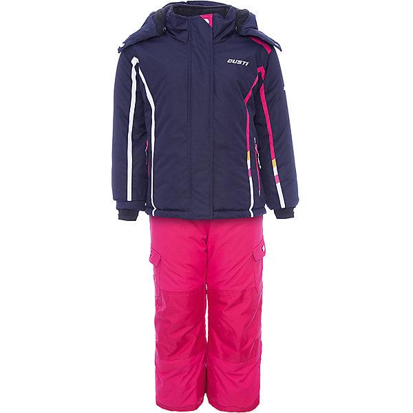 Gusti Комплект: куртка и полукомбинезон Gusti для девочки костюм утепленный gusti gusti gu018ebbugi6