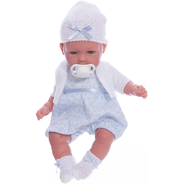 Кукла Vestida de Azul Томи в голубом костюмеКуклы<br>Характеристики:<br><br>• вес: 450г.;<br>• материал: винил, текстиль;<br>• упаковка: коробка;<br>• размер упаковки: 38х12х42см.;<br>• для детей в возрасте: от 3 лет;<br>• страна производитель: Испания.<br><br>Кукла «Томми в голубом костюме» бренда Vestida de Azul (Вестида Де Азул) станет желанным подарком для маленькой девочки. Она создана из высококачественных, экологически чистых материалов, что очень важно для детских товаров.<br><br>Милый малыш-карапуз, умеющий плакать, в шикарном наряде не оставит равнодушной ни одну девочку. Игрушка имеет оптимальный размер, её рост составляет тридцать сантиметров. У неё мягкое тельце, а ножки и ручки хорошо двигаются. Томми можно брать с собой в путешествия и на прогулки, чтобы показывать подружкам и играть вместе сними.<br><br>Играя с куклой дети могут создавать свой стиль в одежде, развивать социальные навыки, фантазию, креативность.<br><br>Куклу «Томми в голубом костюме» можно купить в нашем интернет-магазине.<br>Ширина мм: 380; Глубина мм: 120; Высота мм: 240; Вес г: 450; Возраст от месяцев: 36; Возраст до месяцев: 2147483647; Пол: Женский; Возраст: Детский; SKU: 7073757;
