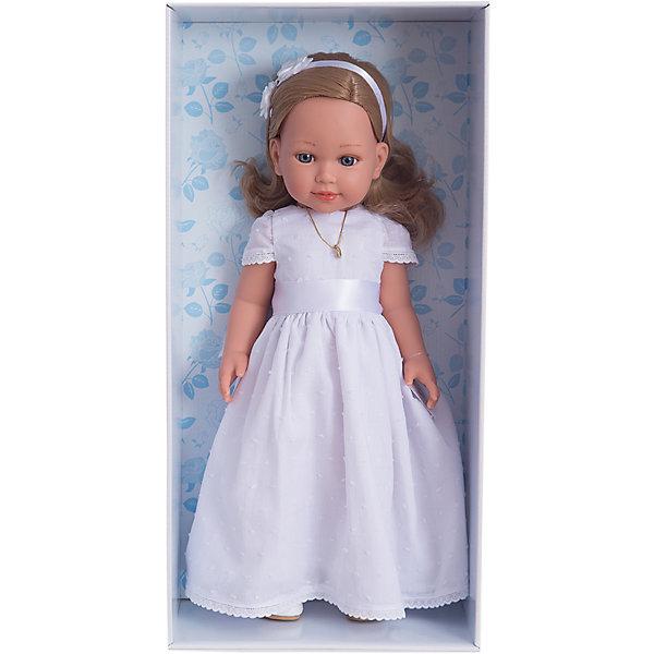 Vestida de Azul Кукла Vestida de Azul Корал блондинка, первое причастие