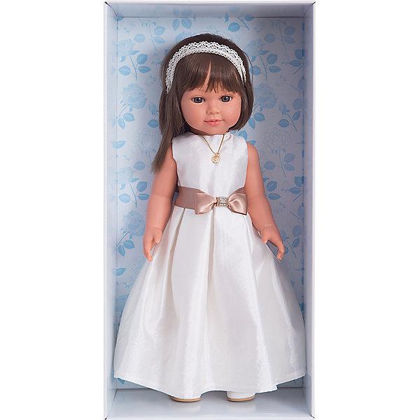 Кукла Vestida de Azul Корал брюнетка, первое причастиеКуклы<br><br>Ширина мм: 470; Глубина мм: 160; Высота мм: 250; Вес г: 1250; Возраст от месяцев: 36; Возраст до месяцев: 2147483647; Пол: Женский; Возраст: Детский; SKU: 7074016;