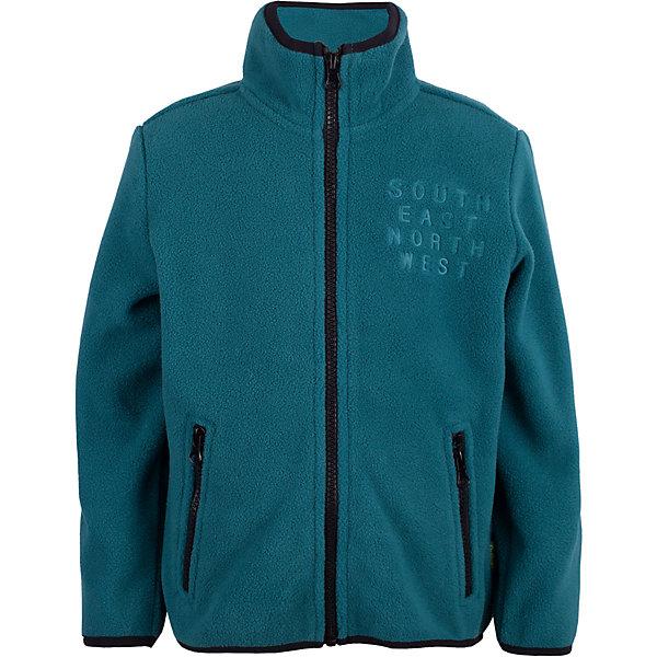 Gulliver Флисовая толстовка Gulliver для мальчика флисовая толстовка patagonia 13136 integral jacket