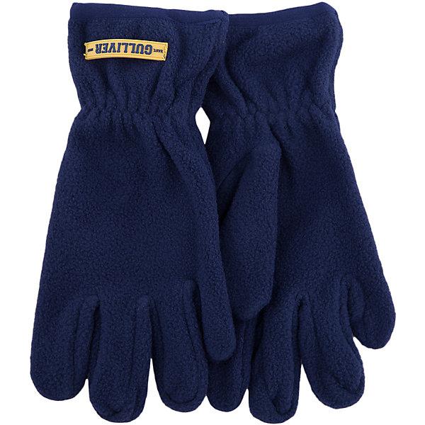 Флисовые перчатки Gulliver для мальчикаПерчатки<br>Характеристики товара:<br><br>• цвет: синий;<br>• состав: 100% полиэстер, флис;<br>• сезон: демисезон, зима;<br>• температурный режим: от +10 до -10С;<br>• особенности: флисовые;<br>• можно использовать как базовый слой в сильные холода;<br>• коллекция: Арбитр;<br>• страна бренда: Россия;<br>• страна изготовитель: Китай.<br><br>Флисовые перчатки для мальчика - вещь для зимы совершенно необходимая! Особенно для тех, кто предпочитает длительные прогулки на свежем воздухе, активный отдых и спорт. Флисовые перчатки защитят кожу ребенка, создав уют, комфорт и свободу движений.<br><br>Перчатки Gulliver (Гулливер) можно купить в нашем интернет-магазине.<br>Ширина мм: 162; Глубина мм: 171; Высота мм: 55; Вес г: 119; Цвет: синий; Возраст от месяцев: 84; Возраст до месяцев: 96; Пол: Мужской; Возраст: Детский; Размер: 14,16; SKU: 7077119;