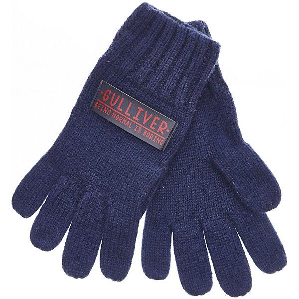 Перчатки Gulliver для мальчикаПерчатки<br>Характеристики товара:<br><br>• цвет: синий;<br>• состав: 50% шерсть ягненка 50% нейлон; <br>• сезон: демисезон;<br>• температурный режим: от +10 до -10С;<br>• особенности: вязаные;<br>• коллекция: Морской волк;<br>• страна бренда: Россия;<br>• страна изготовитель: Китай.<br><br>Вязаные перчатки для мальчика - необходимая вещь для сырой и промозглой осенней погоды! Мягкие вязаные перчатки защитят кожу ребенка, создав уют и комфорт. <br><br>Перчатки Gulliver (Гулливер) можно купить в нашем интернет-магазине.<br>Ширина мм: 162; Глубина мм: 171; Высота мм: 55; Вес г: 119; Цвет: синий; Возраст от месяцев: 132; Возраст до месяцев: 144; Пол: Мужской; Возраст: Детский; Размер: 16,18; SKU: 7077334;