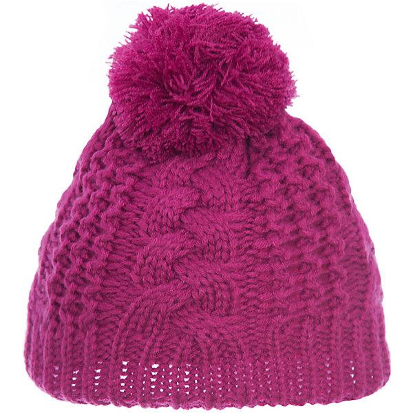 Шапка GustiГоловные уборы<br>Характеристики товара:<br><br><br>• состав ткани: 100% полиэстер<br>• подкладка: флис <br>• сезон: зима<br>• температурный режим: от -30 до +5<br>• особенности модели: крупная вязка<br>• страна бренда: Канада<br>• страна изготовитель: Китай<br><br>Теплая шапка для девочки поможет не замерзнуть даже в сильный мороз. Вязаная детская шапка отличается стильным дизайном. Стильная детская шапка сделана с учетом последних веяний в детской моде.