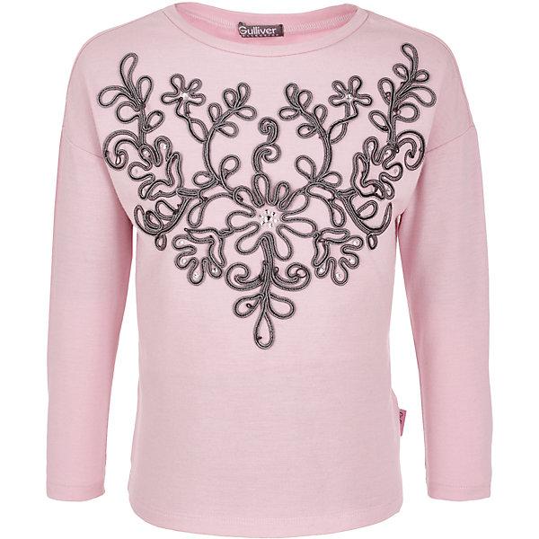 Gulliver Джемпер Gulliver для девочки шорты gulliver для девочки цвет розовый