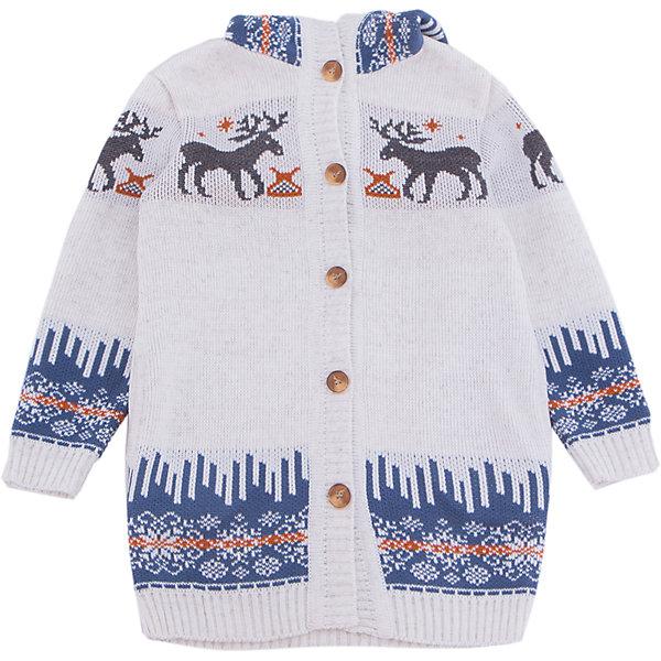 Кардиган GakkardТолстовки, свитера, кардиганы<br>Характеристики товара:<br><br>• цвет: белый<br>• состав: 50% натуральная шерсть мериноса, 30% натуральный лен, 20% ПАН<br>• сезон: зима<br>• застежка: пуговицы<br>• особенности модели: с капюшоном<br>• длинные рукава<br>• страна бренда: Россия<br>• страна производства: Россия<br><br>Этот детский кардиган сделан из мягкой пряжи с добавлением натуральной шерсти мериноса. Детский кардиган с длинным рукавом выглядит стильно благодаря вязаному рисунку в скандинавском стиле. Вязаный кардиган для ребенка дополнен удобным капюшоном. <br><br>Кардиган Gakkard (Жаккард) можно купить в нашем интернет-магазине.<br>Ширина мм: 190; Глубина мм: 74; Высота мм: 229; Вес г: 236; Цвет: бежевый; Возраст от месяцев: 6; Возраст до месяцев: 9; Пол: Унисекс; Возраст: Детский; Размер: 74,152,146,140,134,128,122,116,110,104,98,92,86,80; SKU: 7085710;