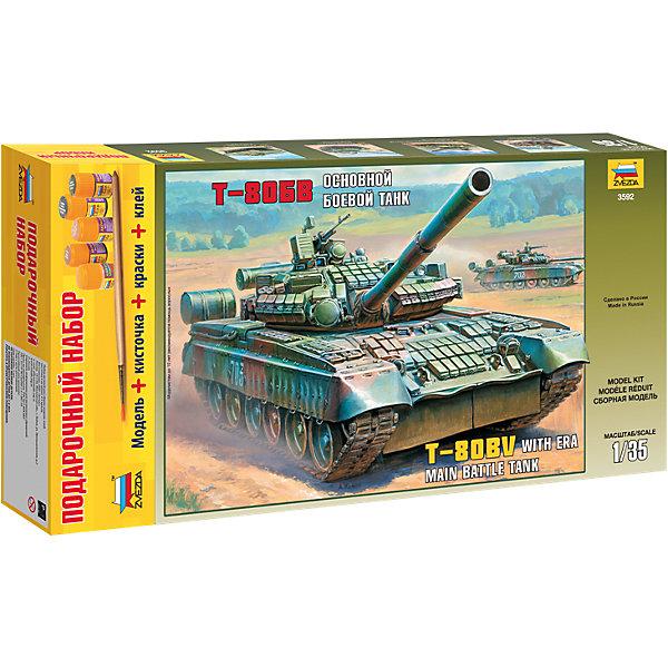 Звезда Сборная модель Звезда Танк Т-80БВ, 1:35 (подарочный набор) alesis q49