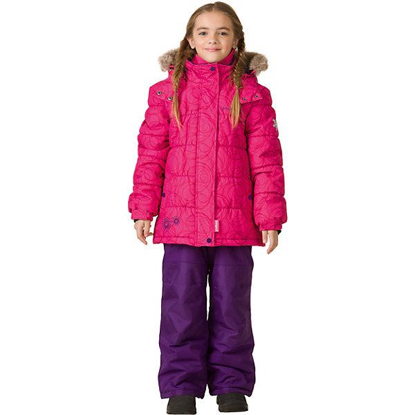 Комплект: куртка и брюки Premont для девочкиВерхняя одежда<br>Характеристики товара:<br><br>• цвет: фуксия<br>• комплектация: куртка и брюки<br>• состав ткани: Taslan<br>• подкладка: Polar fleece, Taffeta<br>• утеплитель: Tech-polyfill<br>• сезон: зима<br>• мембранное покрытие<br>• температурный режим: от -30 до +5<br>• водонепроницаемость: 5000 мм <br>• паропроницаемость: 5000 г/м2<br>• плотность утеплителя: куртка - 280 г/м2, брюки - 180 г/м2<br>• капюшон: съемный<br>• искусственный мех на капюшоне отстегивается<br>• застежка: молния<br>• страна бренда: Канада<br>• страна изготовитель: Китай<br><br>Мембранный комплект для ребенка состоит из куртки с капюшоном и брюк. Детский теплый комплект дополнен эластичными манжетами, светоотражающими элементами, лямками, планкой от ветра и карманами на липучках. Теплый зимний детский комплект сделан с применением мембранной технологии.<br><br>Комплект: куртка и брюки для девочки Premont (Премонт) можно купить в нашем интернет-магазине.<br>Ширина мм: 356; Глубина мм: 10; Высота мм: 245; Вес г: 519; Цвет: красный; Возраст от месяцев: 18; Возраст до месяцев: 24; Пол: Женский; Возраст: Детский; Размер: 92,164,152,140,128,122,120,116,110,104,100,98; SKU: 7088125;