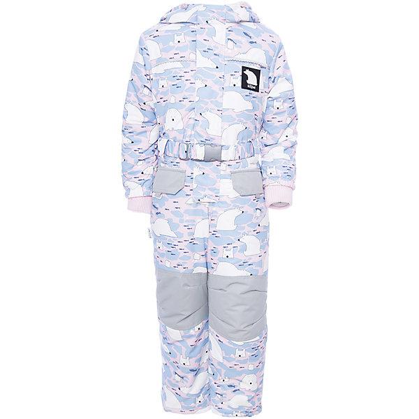 Комбинезон BOOM by Orby для девочкиВерхняя одежда<br>Характеристики товара:<br><br>• цвет: белый<br>• состав ткани: таффета<br>• подкладка: флис, полиэстер пуходержащий<br>• утеплитель: FiberSoft<br>• сезон: зима<br>• мембранное покрытие<br>• температурный режим: от 0 до -30С<br>• водонепроницаемость: 3000 мм <br>• паропроницаемость: 3000 г/м2<br>• плотность утеплителя: 400 г/м2<br>• капюшон: без меха<br>• застежка: молния<br>• штрипки<br>• страна бренда: Россия<br>• страна изготовитель: Россия<br><br>Зимний комбинезон для ребенка поможет обеспечить необходимый уровень утепления. Детский теплый комбинезон дополнен удобным капюшоном, планкой от ветра и карманами. Мембранная ткань верха детского зимнего комбинезона защищена от промокания и ветра. Мембранный комбинезон для девочки легко чистится. <br><br>Комбинезон для девочки BOOM by Orby (Бум бай Орби) можно купить в нашем интернет-магазине.<br>Ширина мм: 356; Глубина мм: 10; Высота мм: 245; Вес г: 519; Цвет: серый; Возраст от месяцев: 12; Возраст до месяцев: 18; Пол: Женский; Возраст: Детский; Размер: 86,92,80,128,122,116,110,104,98; SKU: 7090045;