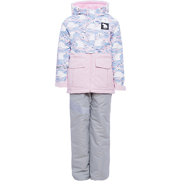BOOM by Orby Комплект: куртка и полукомбинезон BOOM by Orby для девочки куртка для девочки boom цвет голубой 80006 bog размер 164