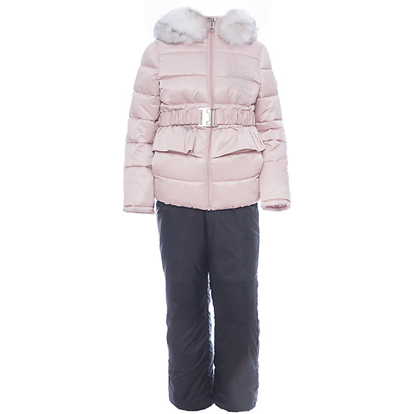 Комплект: куртка и полукомбинезон BOOM by Orby для девочкиВерхняя одежда<br>Характеристики товара:<br><br>• цвет: розовый<br>• комплектация: куртка, полукомбинезон <br>• состав ткани: атлас курточный, таффета pu milky<br>• подкладка: хлопок, флис, полиэстер пуходержащий<br>• утеплитель: эко синтепон<br>• сезон: зима<br>• температурный режим: от 0 до -30С<br>• плотность утеплителя: куртка - 400 г/м2, полукомбинезон - 200 г/м2<br>• капюшон: с мехом<br>• застежка: молния<br>• страна бренда: Россия<br>• страна изготовитель: Россия<br><br>Этот детский теплый комплект украшен опушкой. Комплект для девочки дополнен удобным капюшоном и карманами. Этот зимний детский комплект создан специально для девочек. Оригинальный зимний комплект для детей поможет обеспечить ребенку комфортный уровень утепления. <br><br>Комплект: куртка и полукомбинезон для девочки BOOM by Orby (Бум бай Орби) можно купить в нашем интернет-магазине.<br>Ширина мм: 356; Глубина мм: 10; Высота мм: 245; Вес г: 519; Цвет: розовый; Возраст от месяцев: 60; Возраст до месяцев: 72; Пол: Женский; Возраст: Детский; Размер: 116,98,92,86,122,110,104; SKU: 7090146;