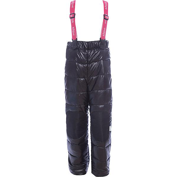Брюки BOOM by Orby для девочкиВерхняя одежда<br>Характеристики товара:<br><br>• цвет: черный<br>• состав ткани: болонь pu milky<br>• подкладка: полиэстер пуходержащий<br>• утеплитель: эко синтепон<br>• сезон: зима<br>• температурный режим: от 0 до -30С<br>• плотность утеплителя: 200 г/м2<br>• пояс: резинка<br>• страна бренда: Россия<br>• страна изготовитель: Россия<br><br>Удобный полукомбинезон легко надевается и снимается. Такой детской полукомбинезон отлично подойдет для зимних холодов - подкладка и наполнитель для зимнего полукомбинезона рассчитаны на морозную погоду. Этот полукомбинезон для девочки поможет обеспечить тепло и комфорт. <br><br>Полукомбинезон для девочки BOOM by Orby (Бум бай Орби) можно купить в нашем интернет-магазине.<br>Ширина мм: 215; Глубина мм: 88; Высота мм: 191; Вес г: 336; Цвет: черный; Возраст от месяцев: 12; Возраст до месяцев: 15; Пол: Женский; Возраст: Детский; Размер: 80,158,152,146,140,134,128,122,116,110,104,98,92,86; SKU: 7090517;