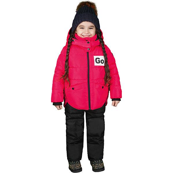 Купить Комплект: куртка и полукомбинезон BOOM by Orby для девочки, Россия, розовый, Женский