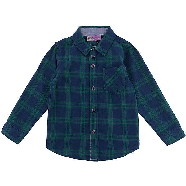 Рубашка Sweet Berry для мальчикаБлузки и рубашки<br>Характеристики товара:<br><br>• цвет: зеленый;<br>• состав материала: 100% хлопок;<br>• сезон: демисезон;<br>• застежка: кнопки;<br>• длинные рукава;<br>• нагрудный карман;<br>• страна бренда: Россия;<br>• страна производства: Китай.<br><br>Рубашка в клетку имеет удобную застежку - кнопки. Рубашка для мальчика дополнена нагрудным карманом и отложным воротником. Рубашка с длинным рукавом сделана из мягкой баковой ткани.<br><br>Рубашку Sweet Berry (Свит Берри) для мальчика можно купить в нашем интернет-магазине.<br>Ширина мм: 174; Глубина мм: 10; Высота мм: 169; Вес г: 157; Цвет: синий; Возраст от месяцев: 24; Возраст до месяцев: 36; Пол: Мужской; Возраст: Детский; Размер: 98,128,122,116,110,104; SKU: 7093758;