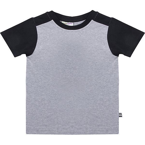 Футболка Sweet Berry для мальчикаФутболки с длинным рукавом<br>Характеристики товара:<br><br>• цвет: серый<br>• состав материала: 100% хлопок<br>• сезон: лето<br>• короткие рукава<br>• страна бренда: Россия<br>• страна производства: Китай<br><br>Трикотажная детская футболка - базовая вещь гардероба ребенка. Эта детская футболка сделана из мягкой хлопковой ткани. Хлопковая футболка для детей от Sweet Berry - качественная и удобная вещь дна разные случаи жизни. <br><br>Футболку Sweet Berry (Свит Берри) для мальчика можно купить в нашем интернет-магазине.<br>Ширина мм: 199; Глубина мм: 10; Высота мм: 161; Вес г: 151; Цвет: серый; Возраст от месяцев: 24; Возраст до месяцев: 36; Пол: Мужской; Возраст: Детский; Размер: 98,128,122,116,110,104; SKU: 7093765;