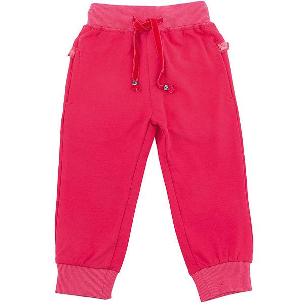 Брюки Sweet Berry для девочкиДжинсы и брючки<br>Характеристики товара:<br><br>• цвет: розовый;<br>• состав материала: 95% хлопок, 5% эластан;<br>• сезон: демисезон;<br>• особенности модели: спортивный стиль<br>• пояс на резинке, дополнительный шнурок;<br>• низ брючин на манжетах;<br>• страна бренда: Россия;<br>• страна производства: Китай.<br><br>Трикотажные брючки для девочки с мягким поясом и со шнуром для регулирования объема по талии. Низ брючин собран на мягкий манжет.<br><br>Брюки Sweet Berry (Свит Берри) для девочки можно купить в нашем интернет-магазине.<br>Ширина мм: 215; Глубина мм: 88; Высота мм: 191; Вес г: 336; Цвет: розовый; Возраст от месяцев: 12; Возраст до месяцев: 15; Пол: Женский; Возраст: Детский; Размер: 80,98,92,86; SKU: 7094553;