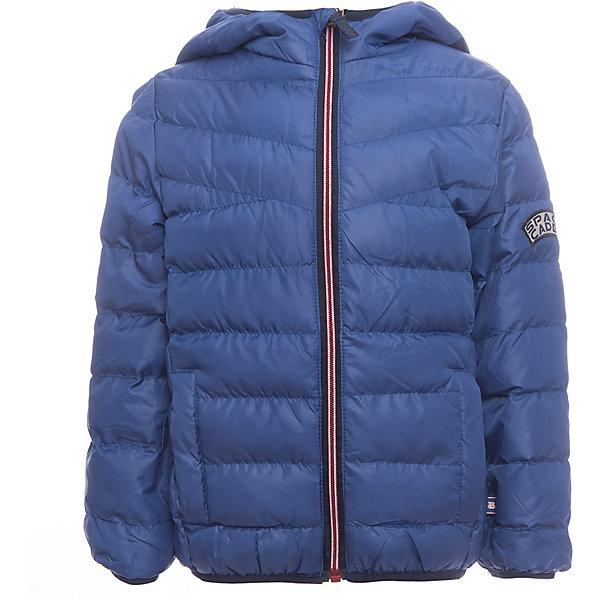 Куртка Sweet Berry для мальчикаДемисезонные куртки<br>Характеристики товара:<br><br>• цвет: синий;<br>• ткань верха: 100% полиэстер;<br>• подкладка: 100% полиэстер;<br>• наполнитель: 100% полиэстер;<br>• сезон: демисезон;<br>• температурный режим: от 0 до +15<br>• особенности модели: стеганая, с капюшоном;<br>• капюшон: без меха, несъемный;<br>• застежка: молния с защитой подбородка;<br>• два прорезных кармана;<br>• капюшон, рукава и низ изделия на резинке;<br>• страна бренда: Россия;<br>• страна производства: Китай.<br><br>Яркая стеганая куртка с несъемным капюшоном для мальчика. Два прорезных кармана. Капюшон, рукава и низ изделия с контрастной окантовочной резинкой. Куртка застегивается на молнию.<br><br>Куртку Sweet Berry (Свит Берри) для мальчика можно купить в нашем интернет-магазине.<br>Ширина мм: 356; Глубина мм: 10; Высота мм: 245; Вес г: 519; Цвет: синий; Возраст от месяцев: 60; Возраст до месяцев: 72; Пол: Мужской; Возраст: Детский; Размер: 116,122,128,104,110,98; SKU: 7094615;