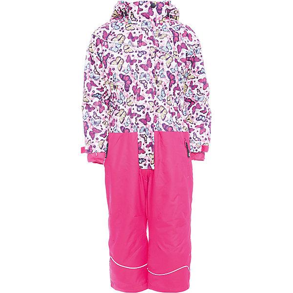 Комбинезон Sweet Berry для девочкиВерхняя одежда<br>Характеристики товара:<br><br>• цвет: розовый;<br>• ткань верха: верх 100% полиэстер, штанины 100% нейлон;<br>• подкладка: 100% полиэстер, трикотаж с ворсом;<br>• наполнитель: 100% полиэстер;<br>• утеплитель: синтепух верх 80 г/м?, штанины 60 г/м? ;<br>• сезон: демисезон<br>• температурный режим: от 0 до +10С;<br>• водонепроницаемость: 3000 мм;<br>• воздухопропускаемость: 3000г/м2;<br>• особенности модели: с капюшоном;<br>• капюшон: съемный, без меха;<br>• застежка: молния с защитой подбородка;<br>• капюшон с дополнительной утяжкой;<br>• рукава с манжетами на липучках;<br>• два кармана на молнии;<br>• ветрозащитная планка;<br>• низ штанин на липучках;<br>• страна бренда: Россия;<br>• страна производства: Китай.<br><br>Комфортный и теплый комбинезон для девочки из мембранной ткани. В конструкции учтены физиологические особенности малыша. Съемный капюшон на кнопках с дополнительной утяжкой, спереди установлены две кнопки. Рукава с манжетами, регулируются липучкой. <br><br>Два кармана, застегивающиеся на молнию. Застежка-молния с внешней ветрозащитной планкой. По бокам брюк расположены карманы на молниях. Штанины внизу затягиваются липучками. Ткань верха: мембрана 3000мм/3000г/м2/24h, waterproof, водонепроницаемая с грязеотталкивающей пропиткой. Пoдкладка: мягкая трикотажная ткань с ворсом.<br><br>Комбинезон Sweet Berry (Свит Берри) для девочки можно купить в нашем интернет-магазине.<br>Ширина мм: 356; Глубина мм: 10; Высота мм: 245; Вес г: 519; Цвет: розовый; Возраст от месяцев: 36; Возраст до месяцев: 48; Пол: Женский; Возраст: Детский; Размер: 104,134,128,122,116,110; SKU: 7095315;