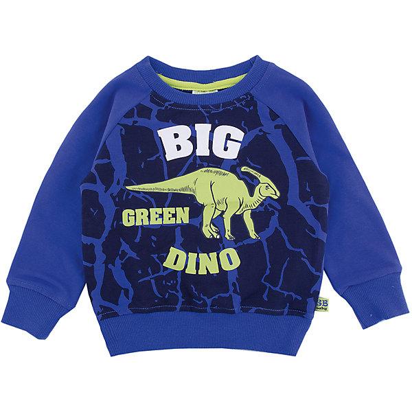 Толстовка Sweet Berry для мальчикаТолстовки, свитера, кардиганы<br>Характеристики товара:<br><br>• цвет: синий<br>• состав материала: 95% хлопок, 5% эластан<br>• сезон: демисезон<br>• длинные рукава<br>• страна бренда: Россия<br>• страна производства: Китай<br><br>Синяя детская толстовка имеет мягкие манжеты. Эта детская толстовка декорирована оригинальным принтом. Толстовка для детей от Sweet Berry - модная и удобная вещь для прохладной погоды. <br><br>Толстовку Sweet Berry (Свит Берри) для мальчика можно купить в нашем интернет-магазине.<br>Ширина мм: 190; Глубина мм: 74; Высота мм: 229; Вес г: 236; Цвет: синий; Возраст от месяцев: 12; Возраст до месяцев: 15; Пол: Мужской; Возраст: Детский; Размер: 80,98,92,86; SKU: 7095419;